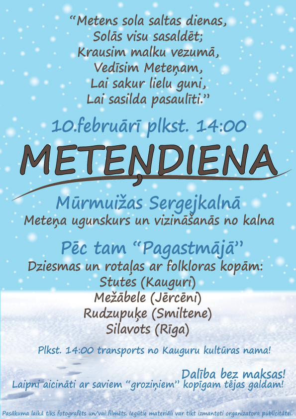 Metendiena 10feb2019 Murmuiza