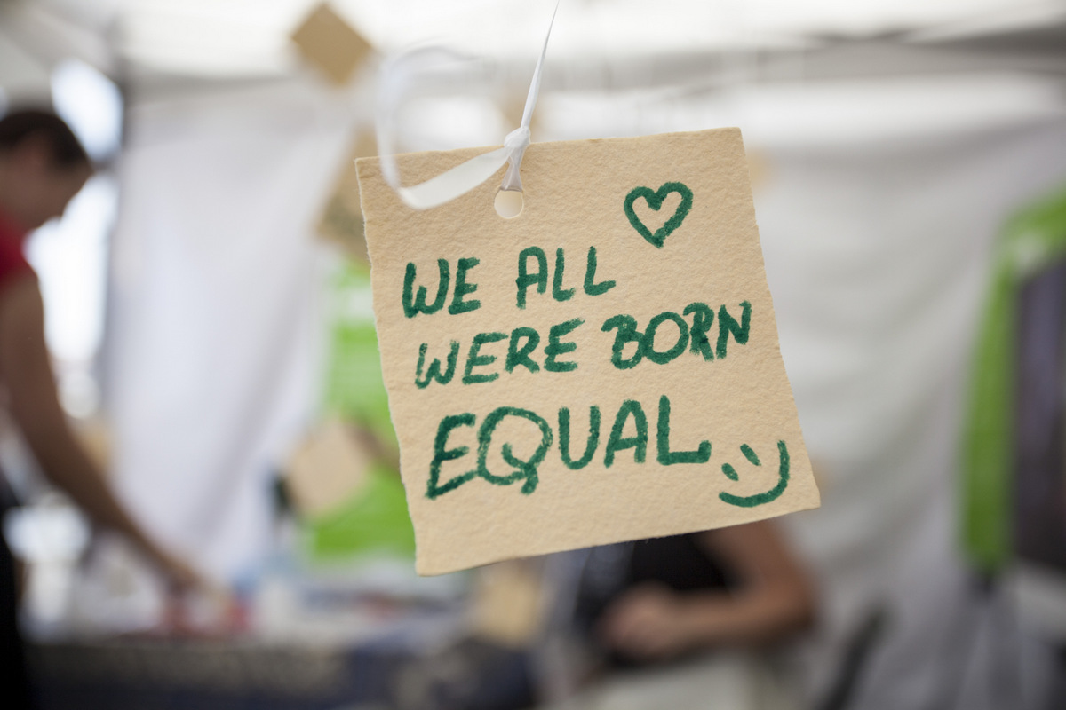 We all were born equal